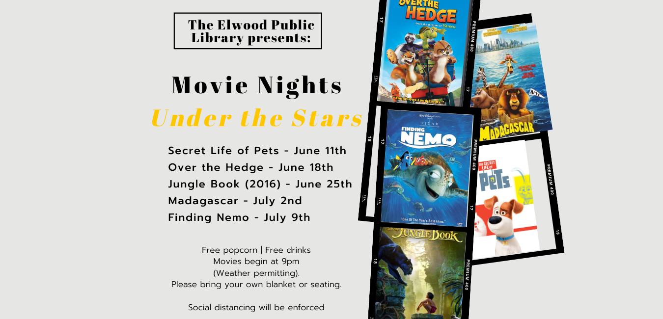Elwood - Movie Nights Under The Stars!