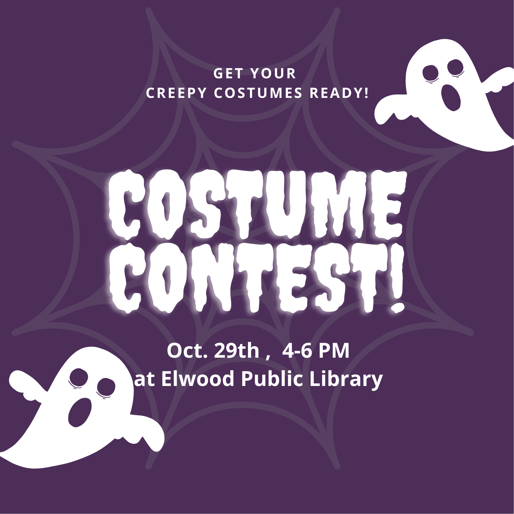 Elwood - Halloween at the Library! Trick or Treating + Costume Contest